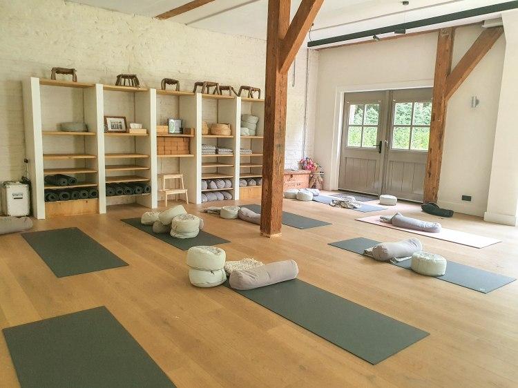 happy soul travel interior yoga studio