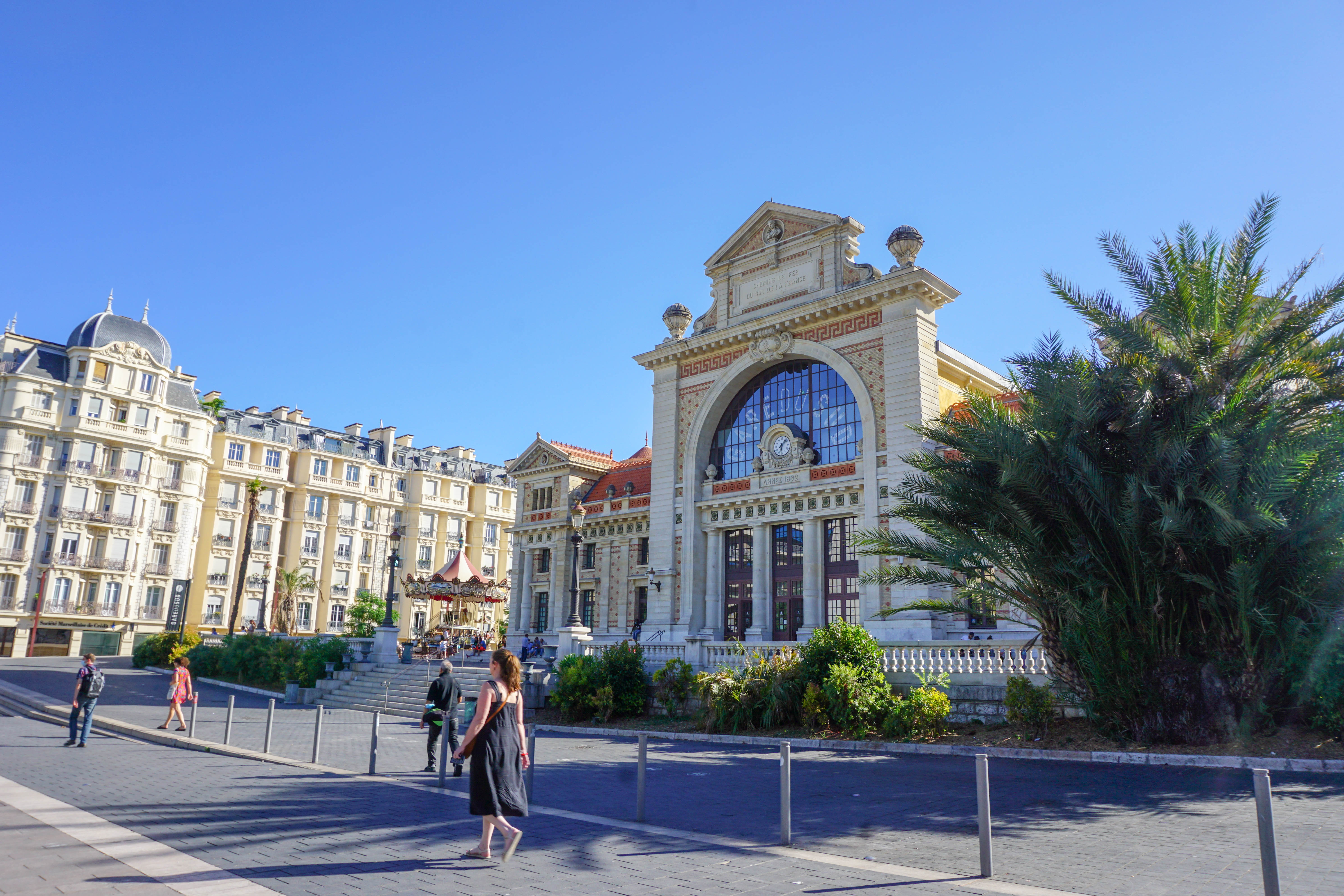 Nice trainstation, Gare du Sud, Nice, France